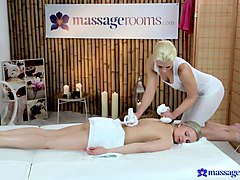Lucia & Tracy in Tracy On Lucia - MassageRooms