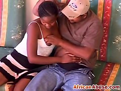 Ethnic ebony blowjob scandal