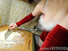 christmas german dirtytalk dildo orgasm in pussy fuck
