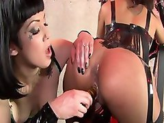 Crazy pornstars Skin Diamond and Asphyxia Noir in best small tits, tattoos porn movie