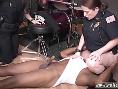 fake taxi threesome police and ebony fucks before cops raw movie takes hold of police