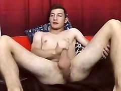 Romanian Gorgeous Gay Boy Cums 3 Times On Cam  Hot Ass