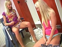 lesbian mom fucks friends daughter young lesbians having fun in locker room