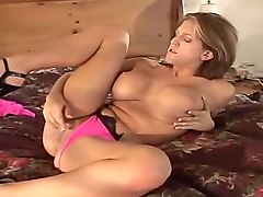 Eve Lawrence Fucks Her Sloppy Cunt Hole